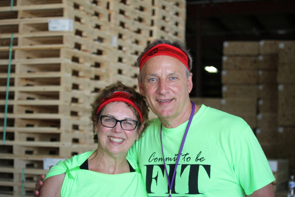 Jenny and Mark Smith Head of Wellness Program